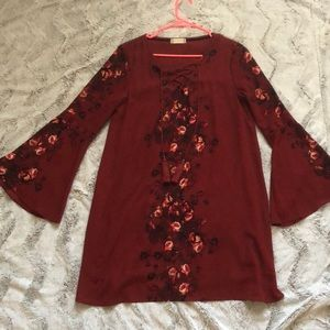 Altar'd State Long Sleeve Dress Size Large